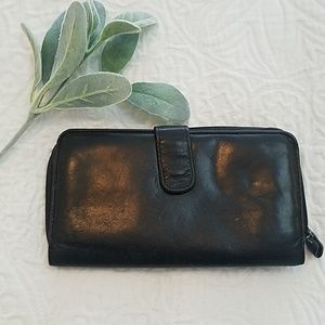 🧡2/10$ Black Leather wallet